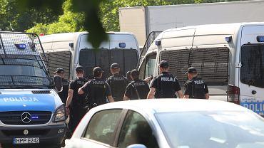 Policyjna obława (zdjęcie ilustracyjne)