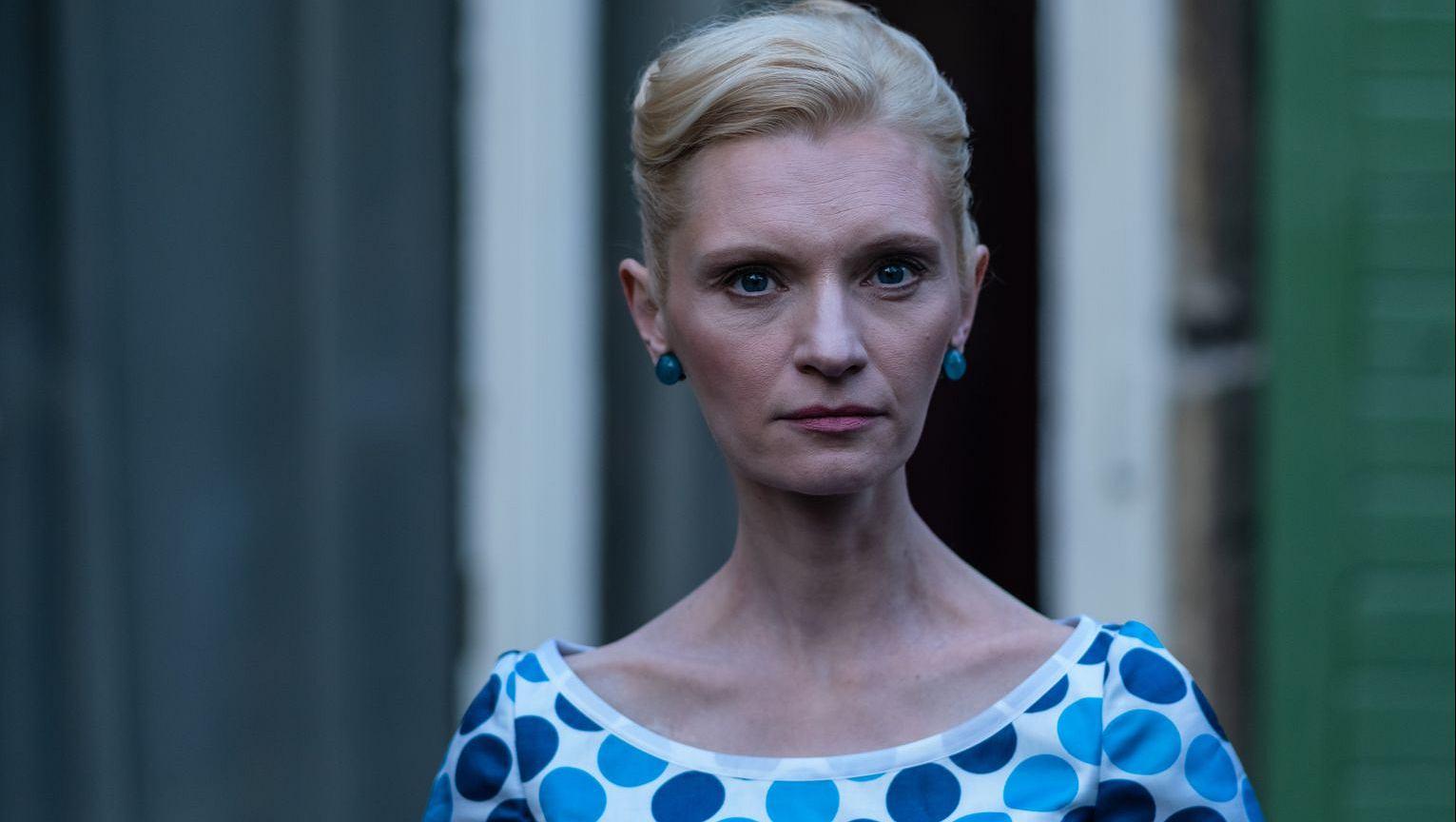 Agata Buzek w filmie 'Ciemno, prawie noc'