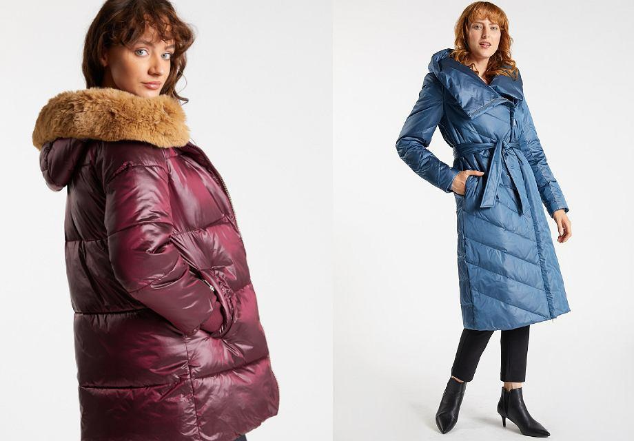 Pikowane płaszcze na zimę