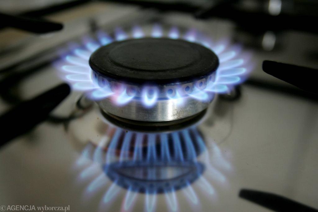 Ceny gazu w górę, także dla gospodarstw domowych. Zdjęcie ilustracyjne