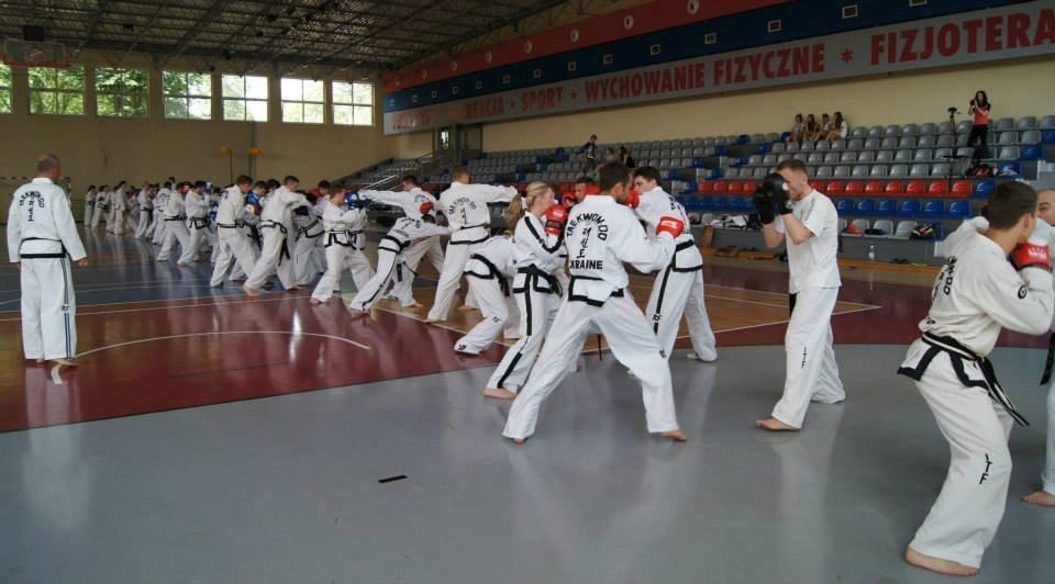 XIX Centralne Zgrupowanie Taekwon-Do Biała Podlaska 2014.