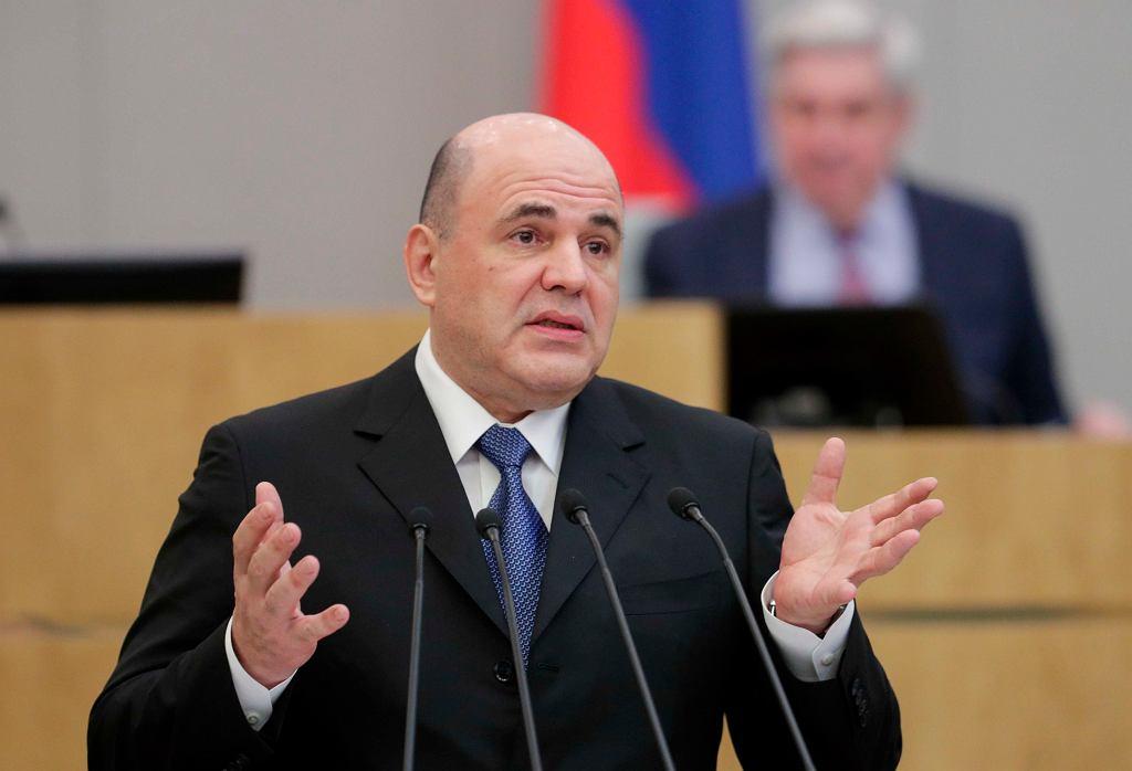 Nowy premier Rosji Michaił Miszustin