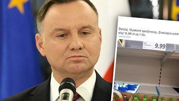Andrzej Duda chwalił się, że przynajmniej olej w Polsce jest tani. To nieaktualne. Ceny wystrzeliły