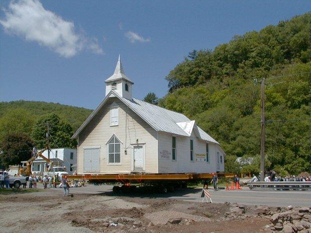 Transport kościoła