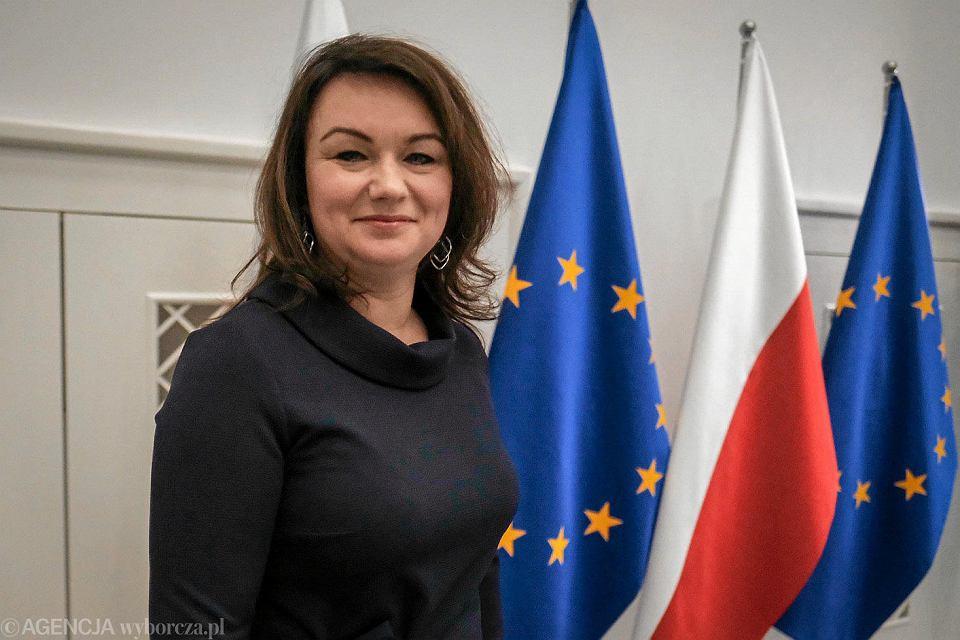 Wicewojewoda wielkopolski Aneta Niestrawska