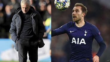 Jose Mourinho skomentował transfer Eriksena. Portugalczyk jest wściekły