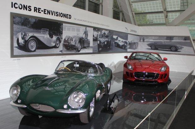 Jaguar XKSS i Jaguar F-Type