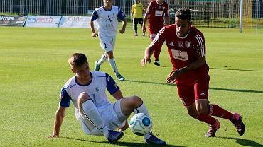 Runda wstępna piłkarskiego Pucharu Polski: Stilon Gorzów - Pogoń Siedlce 0:3 (0:1)