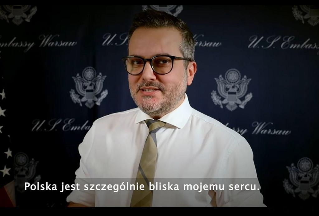 Wyznaczono tymczasowego ambasadora USA