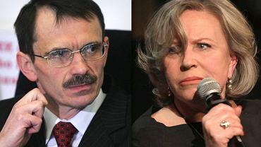 Krzysztof Bukiel i Krystyna Janda