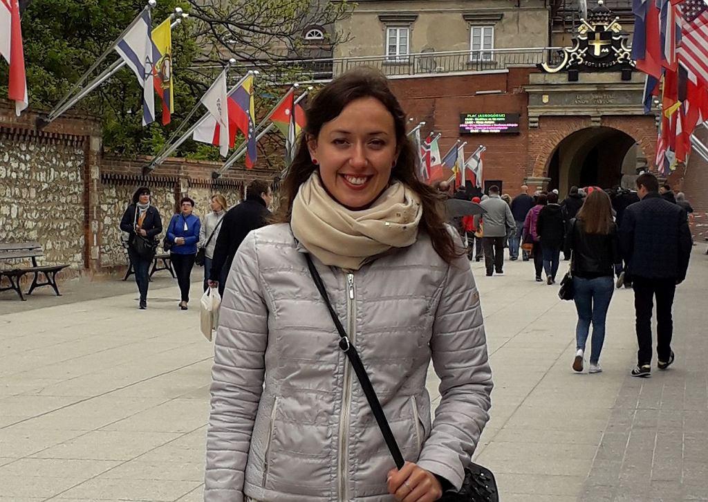 Aneta Rajfur, wolontariuszka Fundacji Wrocławskie Hospicjum dla Dzieci