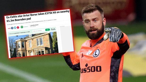 Media: Artur Boruc stracił majątek. Sprzedał zabytkową willę za bezcen