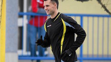 Sparing GKS Katowice - Raków Częstochowa. Piotr Petasz