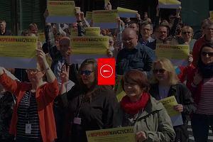 #WielkaŚrodaDlaNauczycieli. Agora solidarna ze strajkującymi