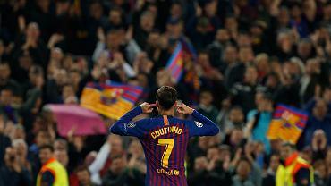 Po golu w Lidze Mistrzów Coutinho zaprezentował kontrowersyjną 'cieszynkę'