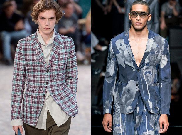 Wzory w męskiej garderobie