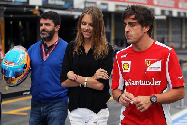 Dasha Kapustina - Fernando Alonso