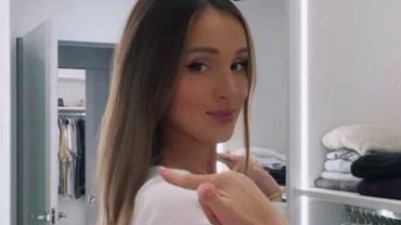 Marina Łuczenko-Szczęsna pokazała, jak czesze swojego ulubionego koka