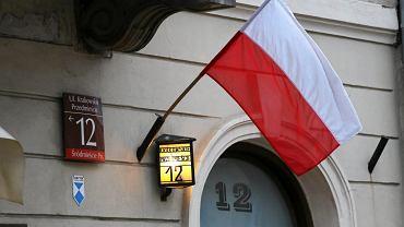 Flaga Powstanie Warszawskie