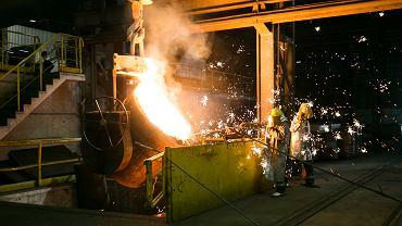 Huta stali, zdjęcie ilustracyjne