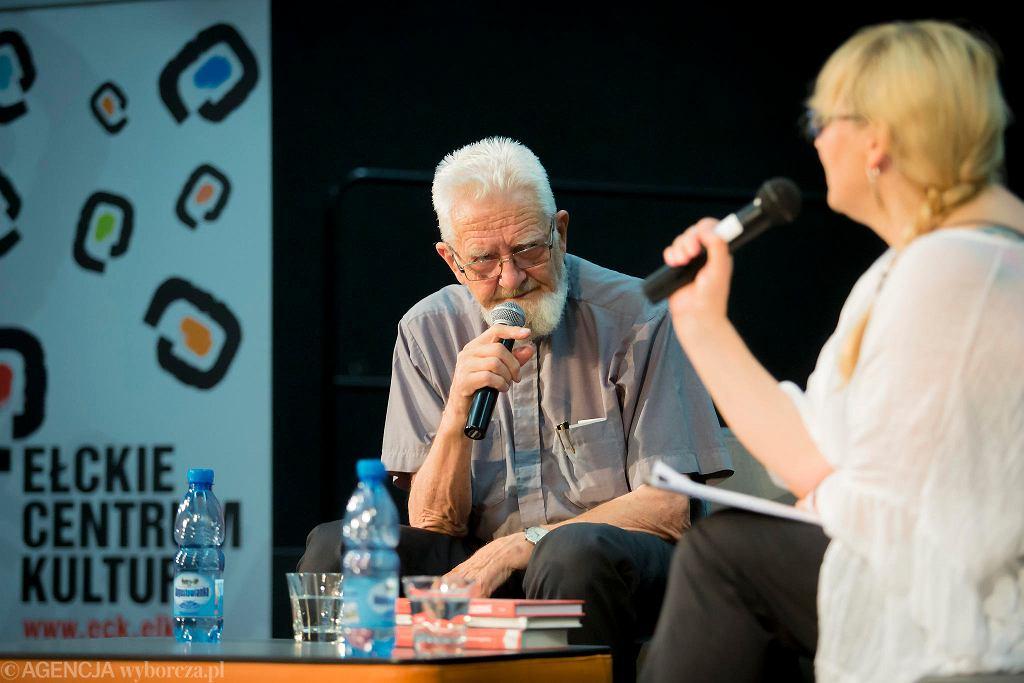 Ksiądz Adam Boniecki na festiwalu #bedzieczytane / RENATA DĄBROWSKA