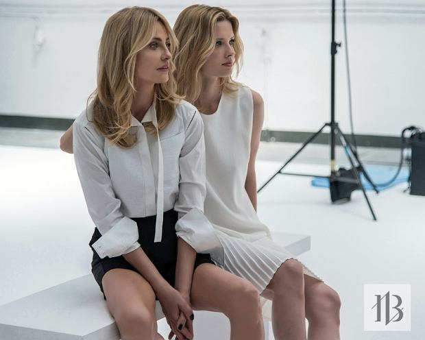 Aneta Kręglicka i Natalia Siódmiak za kulisami kampanii Badura Icons