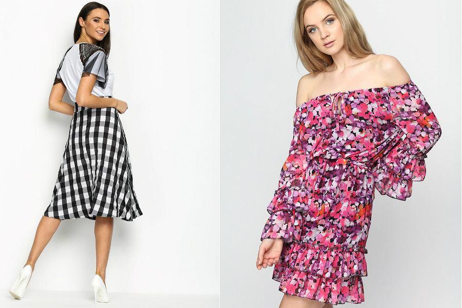 8d46a4d5c Najpiękniejsze spódnice i sukienki we wzory