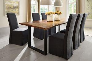 Pokrowce na krzesła - szybka i efektowna metamorfoza mebli