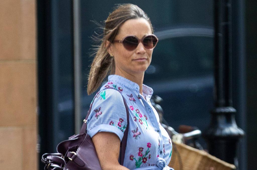 Pippa Middelton jest już w bardzo zaawansowanej ciąży. Wygląda pięknie, duży brzuch jej nie przeszkadza w niczym