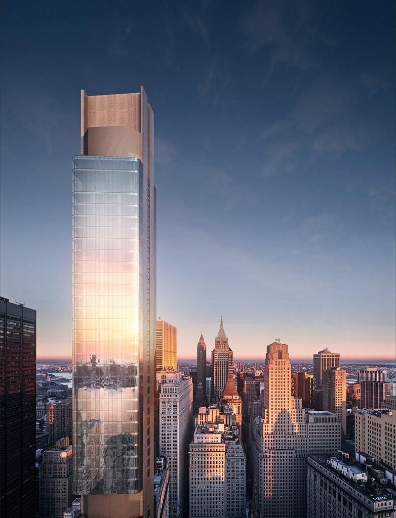 124 Greenwich Street to prestiżowa realizacja Aluprofu na Manhattanie