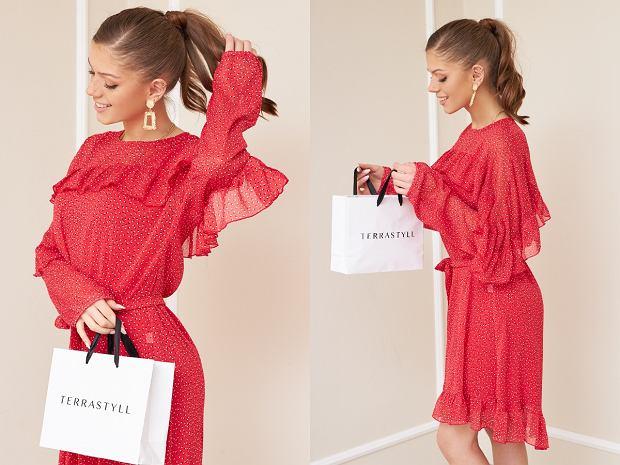 Terrastyll - czerwona sukienka Uppsala