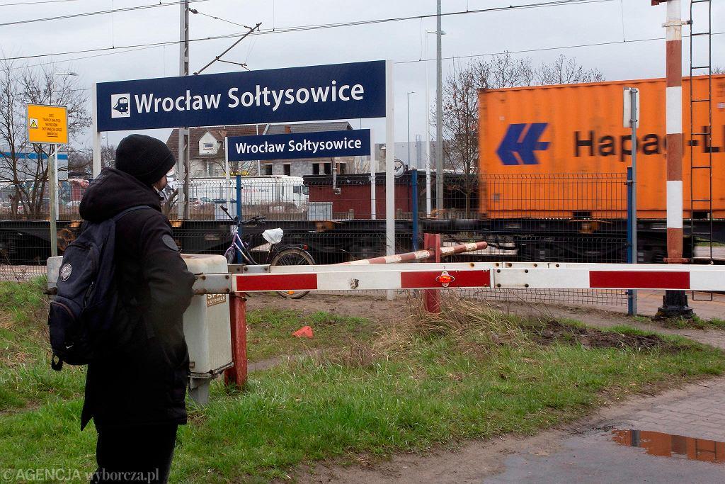 Na Sołtysowicach jest stacja kolejowa