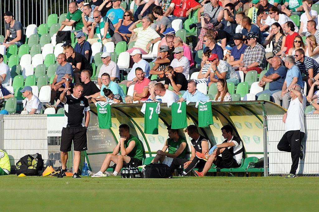 Warta Poznań - GKS Bełchatów 1:1. Trener Tomasz Bekas