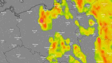 IMGW i RCB ostrzegają przed burzami i gradem