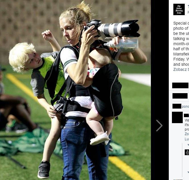 Melissa Wardlow z dziećmi