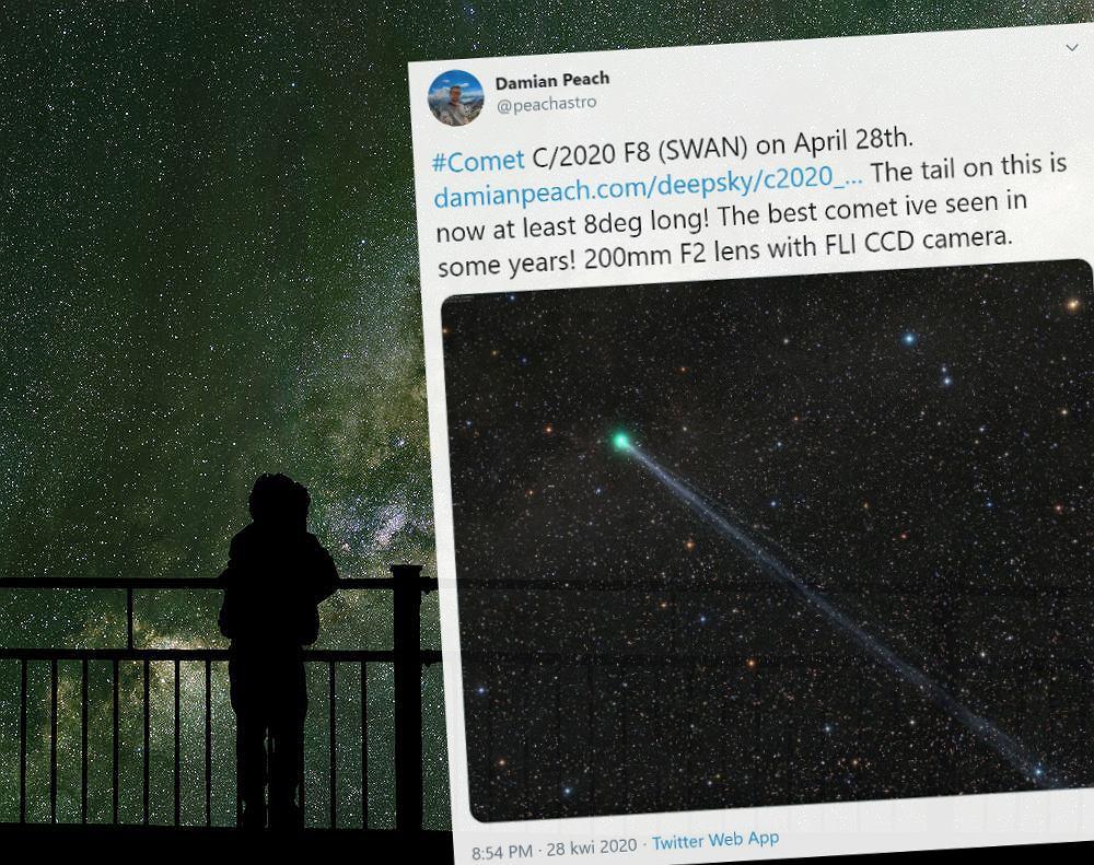 Kometa C/2020 F8 SWAN
