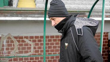 Zespół Tomasza Hajty przegrał w Legnicy z Miedzią 0:2