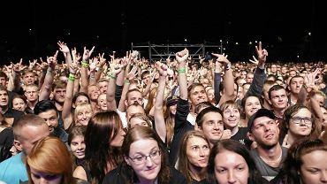 Stadion w Rybniku. Koncert Linkin Park