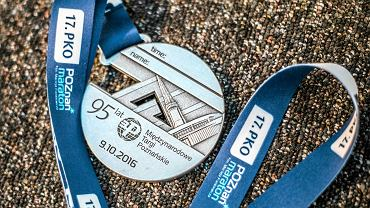 Poznań Maraton 2016 - medal
