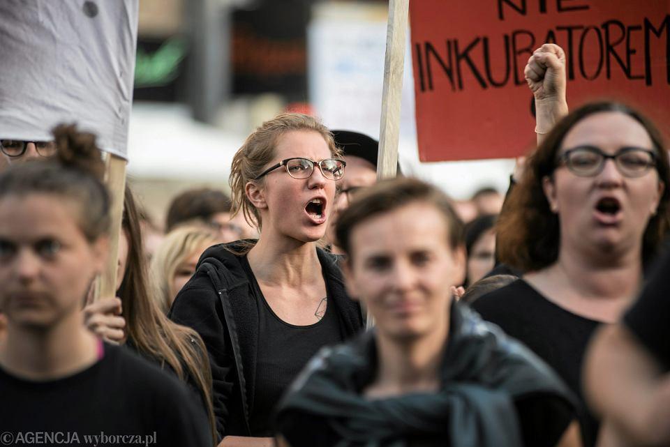 Czarny protest we Wrocławiu, 25.09.2016