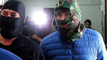 Aleksandr Worobjow eskortowany przez FSB do sądu w Moskwie, 3 lipca 2019.
