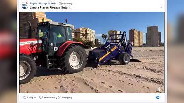 Łeba zakupiła nowy pojazd, który ma pomóc w zbieraniu śmieci z plaż