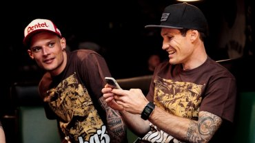 Kenni Larsen i Jason Doyle