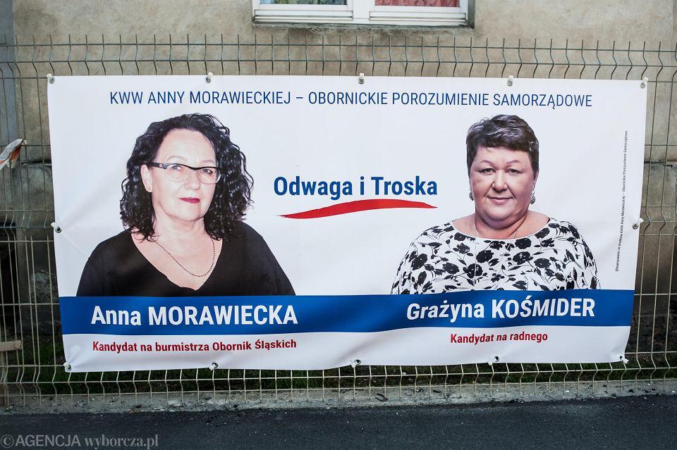 Baner wyborczy Anny Morawieckiej