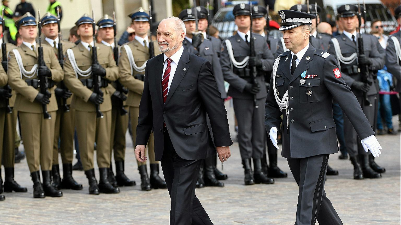 Antoni Macierewicz, minister obrony narodowej