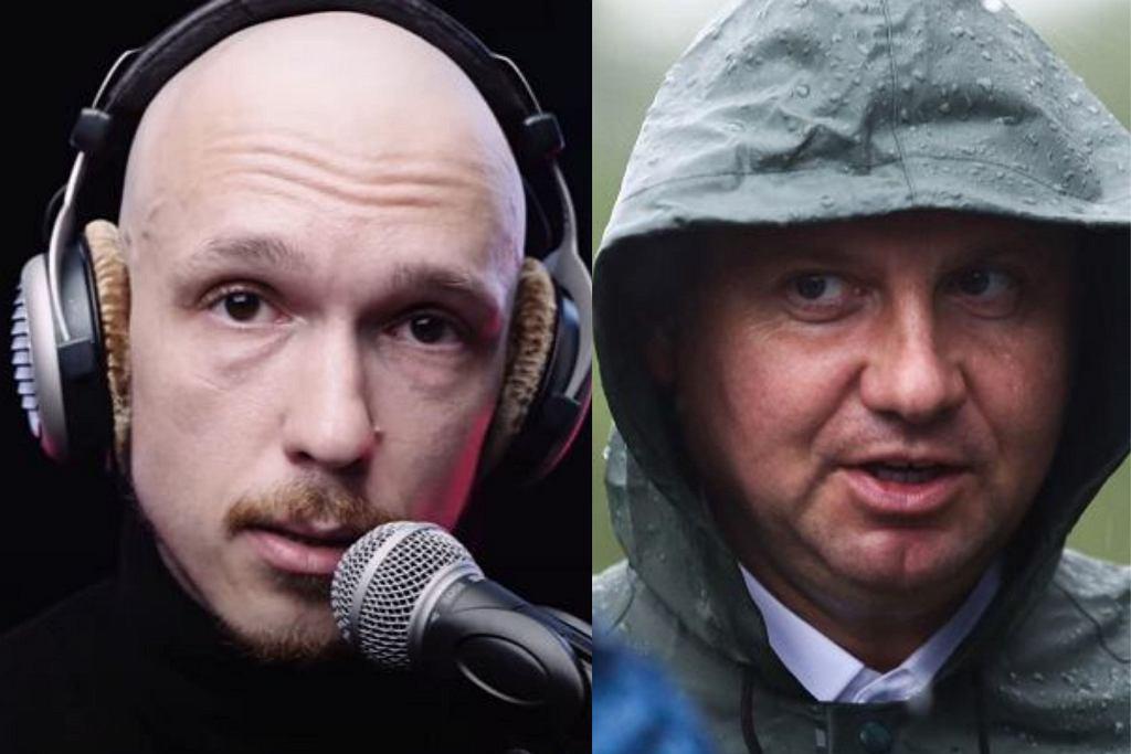 Krzysztof Gonciarz i Andrzej Duda