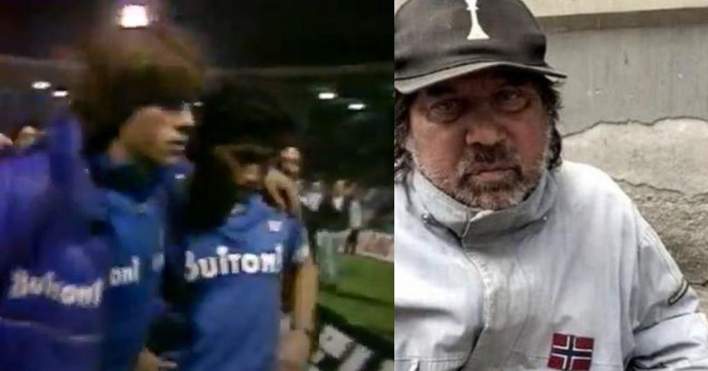 Pietro Puzone, przyjaciel Diego Maradony stał się bezdomnym