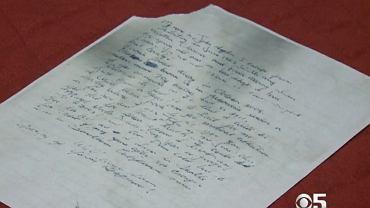 List wysłany przez uciekiniera z Alcatraz |