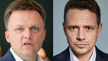 Szymon Hołownia i Rafał Trzaskowski. Debata o ponadpartyjnej prezydenturze