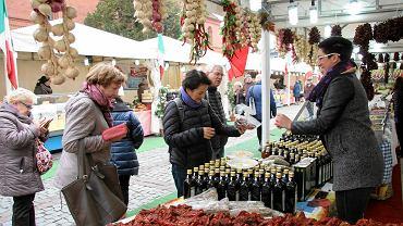 Jarmark włoskiej żywności na Rynku Nowomiejskim